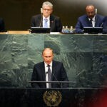 Президент РФ отметил обострение угроз терроризма и наркотрафика в мире