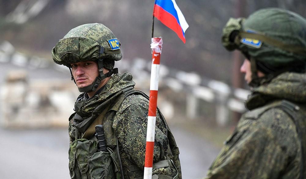 Российский офицер получил ранение в Карабахе