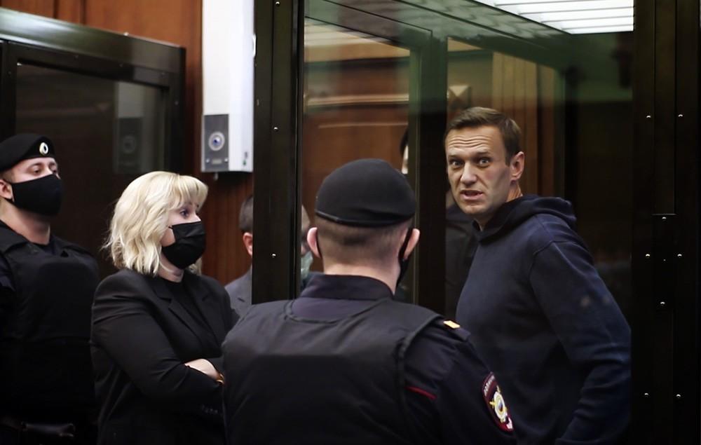 Навальный в суде 2 февраля