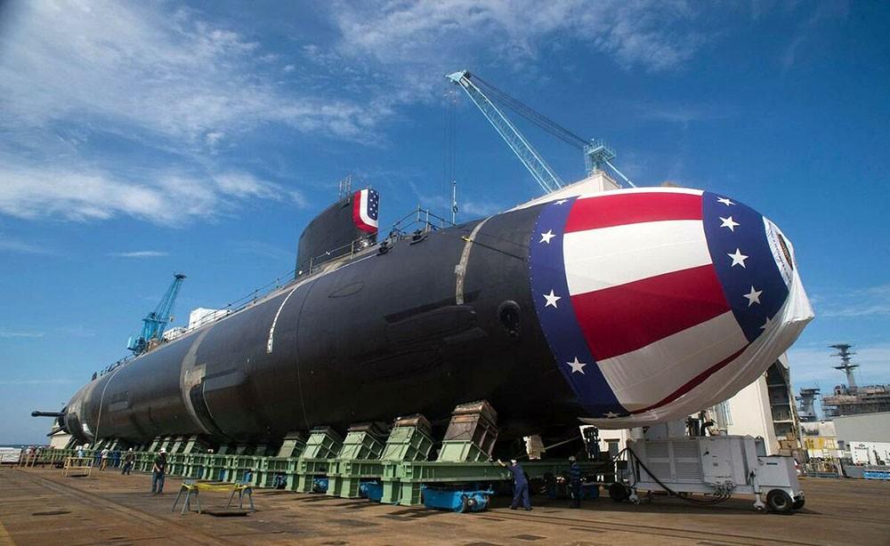 """лодка США класса """"Вирджиния"""" USS John Warner"""