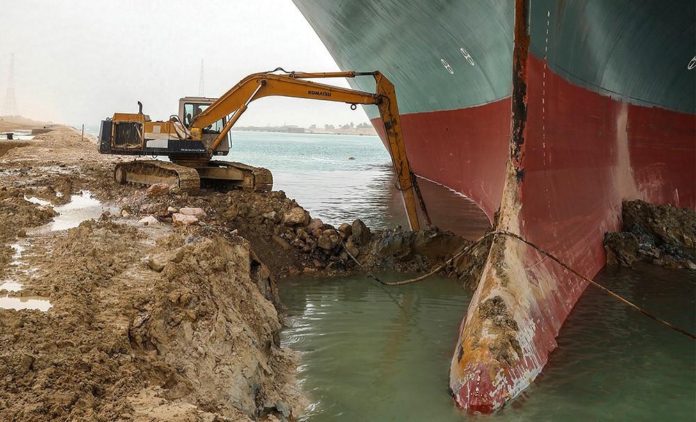 Инцидент с блокированием Суэцкого канала